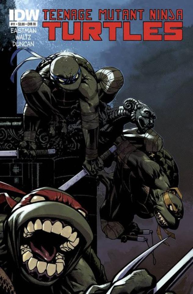 Teenage Mutant Ninja Turtles #11