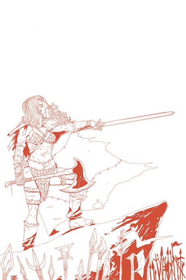 Vampirella / Red Sonja #6 (15 Copy Moss Tint Virgin Cover)