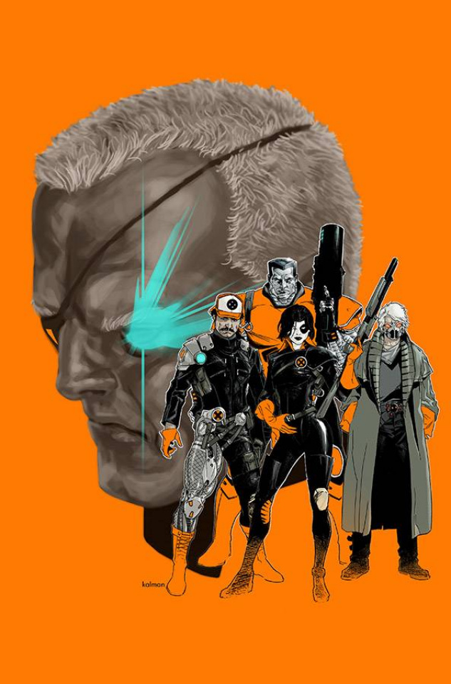 Cable and X-Force #6 (Larocca Cover)