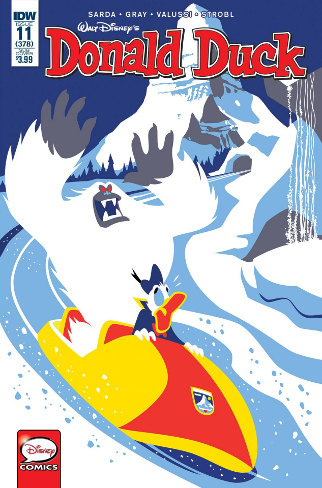 Donald Duck #11 (Subscription Cover)