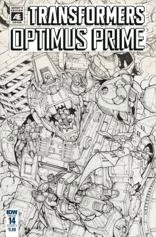 Optimus Prime #14 (Ed Griffith Cover)