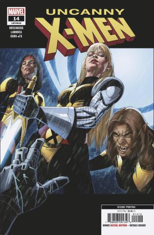 Uncanny X-Men #14 (Larroca 2nd Printing)