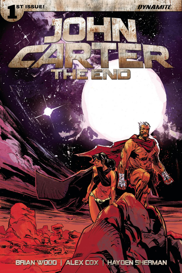 John Carter: The End #1 (Brown Cover)