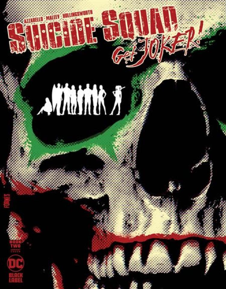 Suicide Squad: Get Joker! #2 (Jorge Fornes Cover)