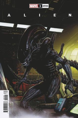 Alien #1 (Finch Launch Cover)