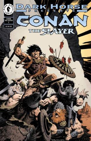 Conan the Slayer #1 (30th Anniversary Schultz Cover)