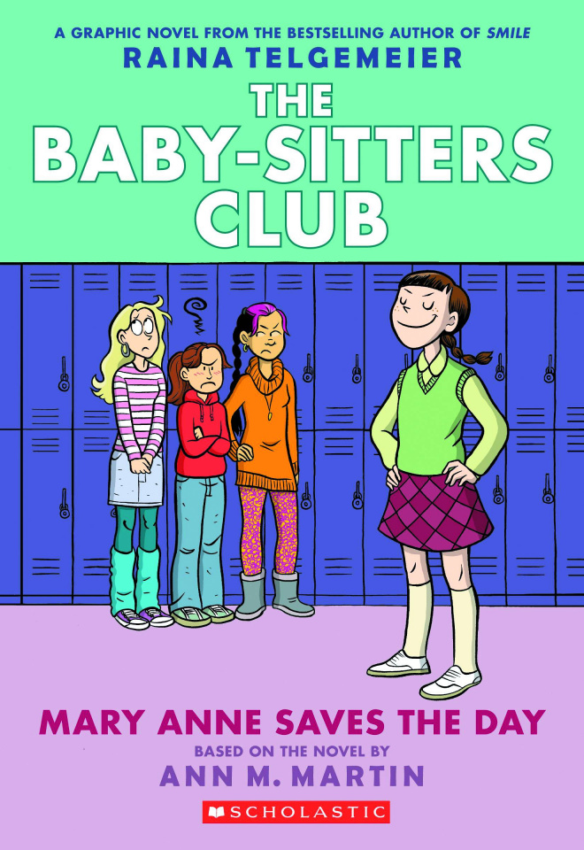 The Baby-Sitters Club Vol. 3: Mary Anne Saves the Day (Color Edition)