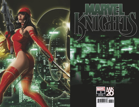 Marvel Knights: 20th Anniversary #3 (Andrews Connecting Cover)