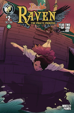 Princeless: Raven, The Pirate Princess - Year 2 #2: Love and Revenge