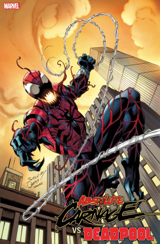 Absolute Carnage vs. Deadpool #3 (Bagley Codex Cover)