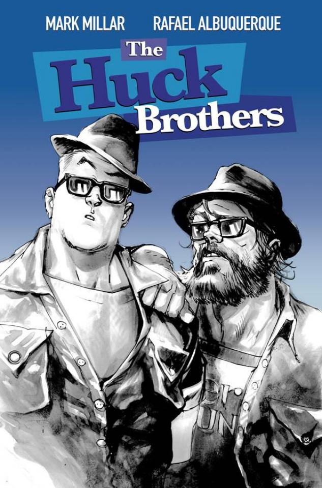 Huck #3 (Albuquerque Cover)