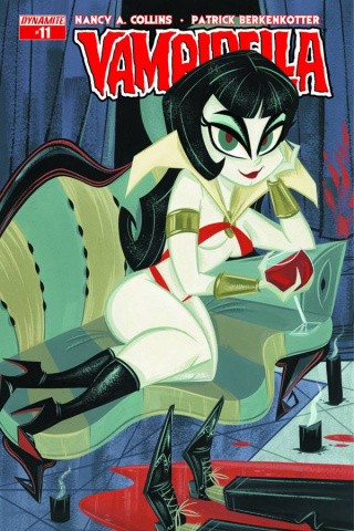 Vampirella #11 (Buscema Subscription Cover)