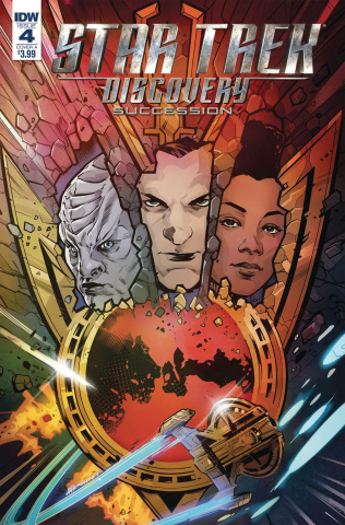 Star Trek: Discovery - Succession #4 (Hernandez Cover)