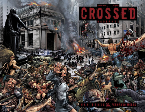 Crossed: Badlands #89 (Wrap Cover)