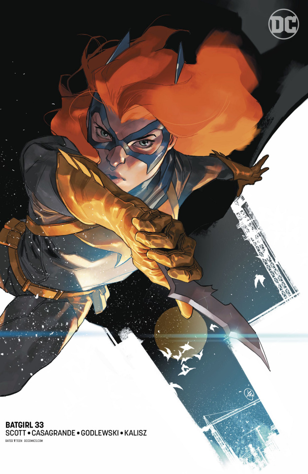 Batgirl #33 (Variant Cover)