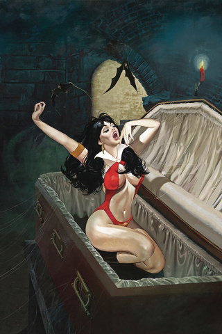 Vampirella #4 (Dalton Virgin Cover)