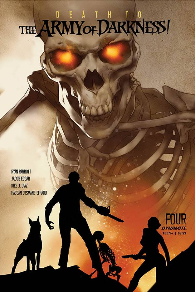 Death to the Army of Darkness #4 (Oliver Cover)
