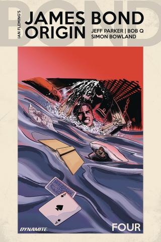 James Bond: Origin #4 (Moustafa Cover)
