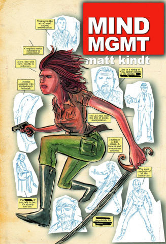 MIND MGMT #1 (1 For $1)