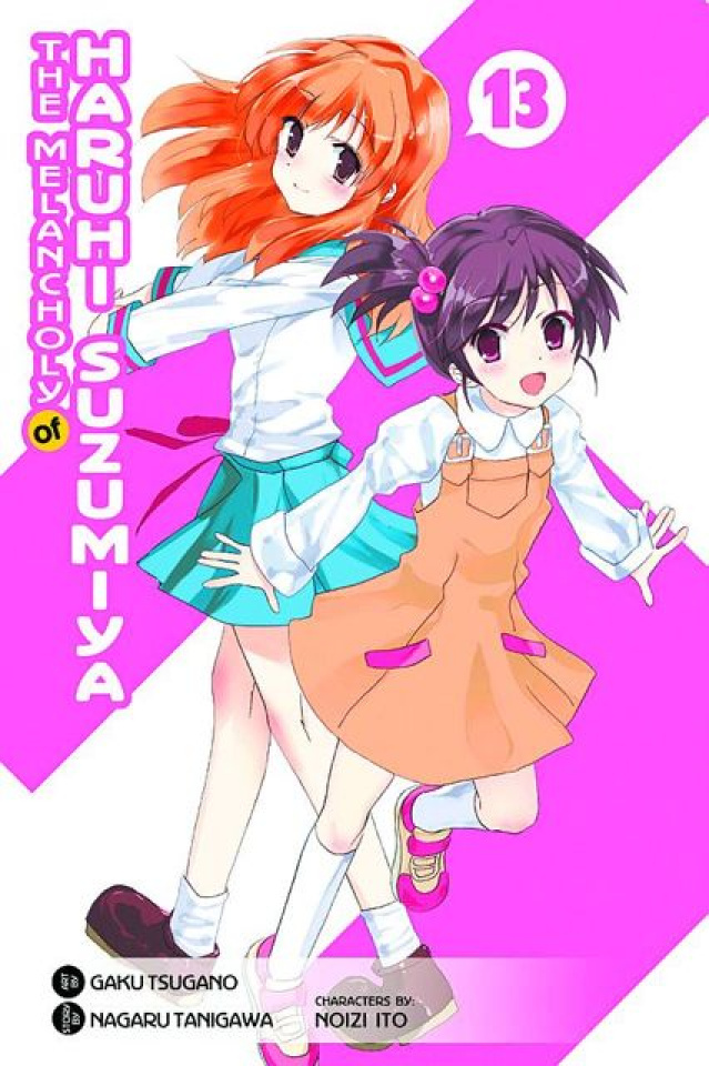 The Melancholy of Suzumiya Haruhi-Chan Vol. 13