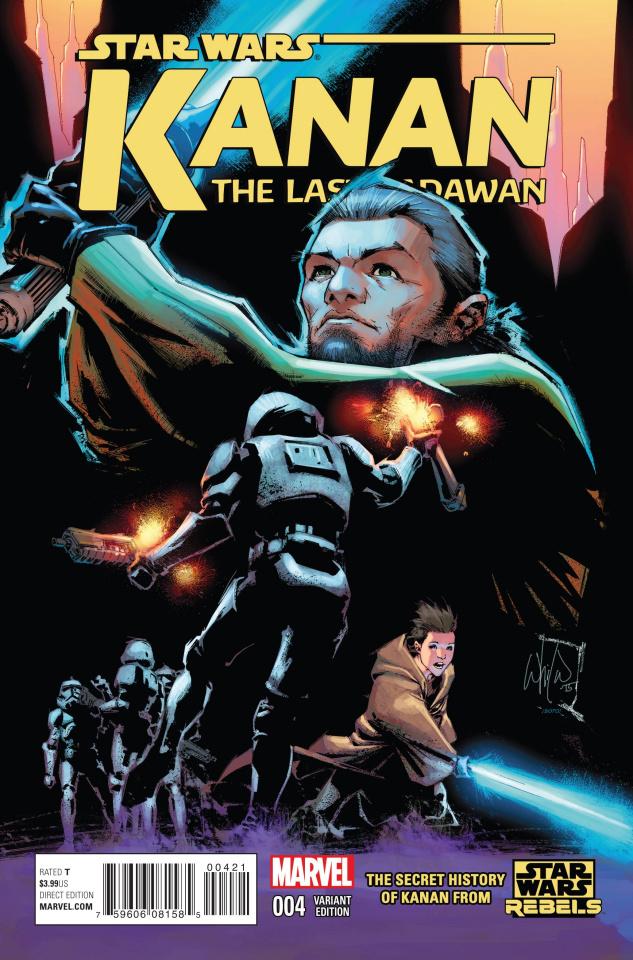 Kanan: The Last Padawan #4 (Portacio Cover)