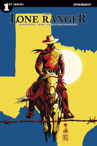 The Lone Ranger #1 (Francavilla Cover)