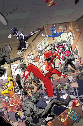 Go, Go, Power Rangers! #3