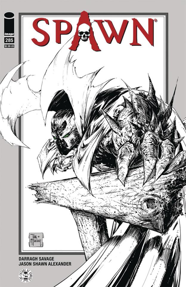 Spawn #285 (McFarlane & Tan Cover)