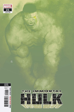 The Immortal Hulk #21 (Sorrentino 2nd Printing)