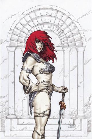 Red Sonja #22 (Linsner Virgin Cover)