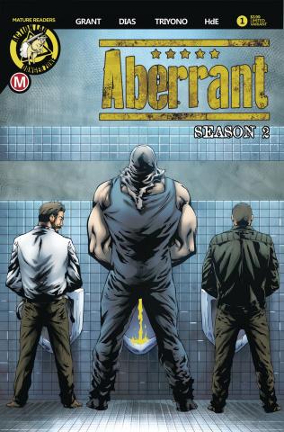 Aberrant, Season 2 #1 (Leon Dias Cover)