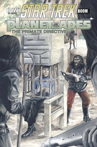 Star Trek / Planet of the Apes #4 (Subscription Cover)