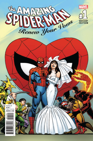 The Amazing Spider-Man: Renew Your Vows #1 (Secret Variant Cover)