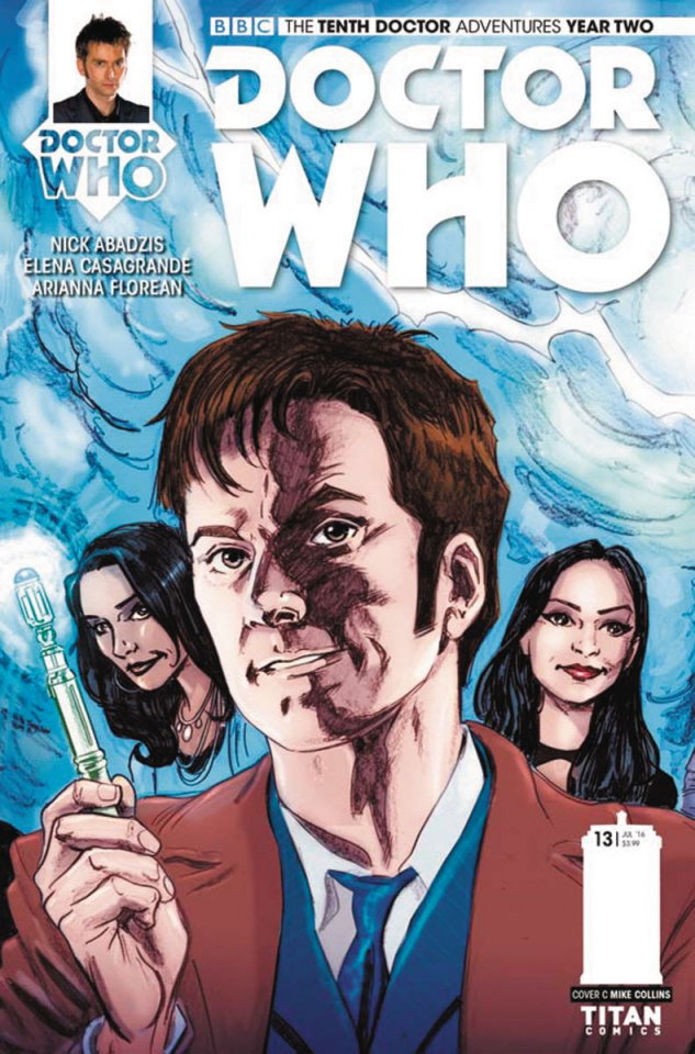 Doctor Who: New Adventures with the Tenth Doctor, Year Two #13 (Collins Connecting Cover)