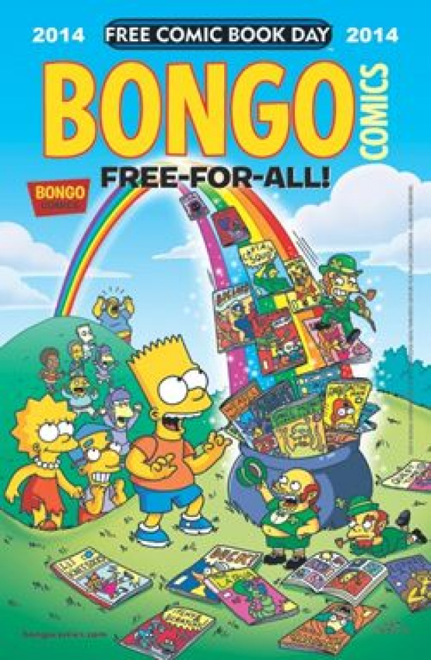 Bongo Free-For-All (Free Comic Book Day 2014)