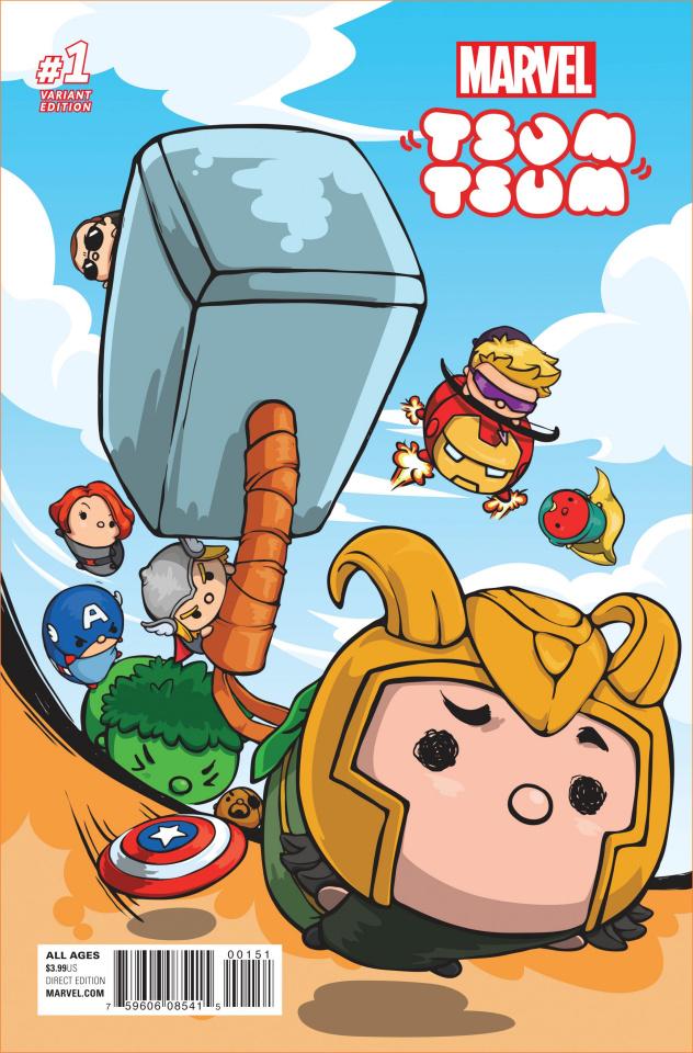 Marvel Tsum Tsum #1 (Japanese Game Cover)