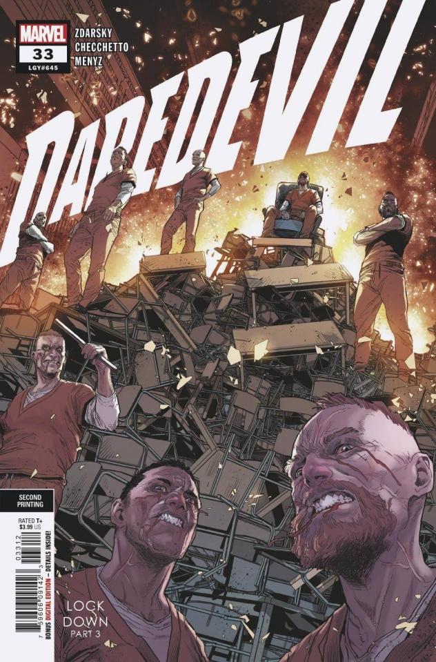 Daredevil #33 (2nd Printing)
