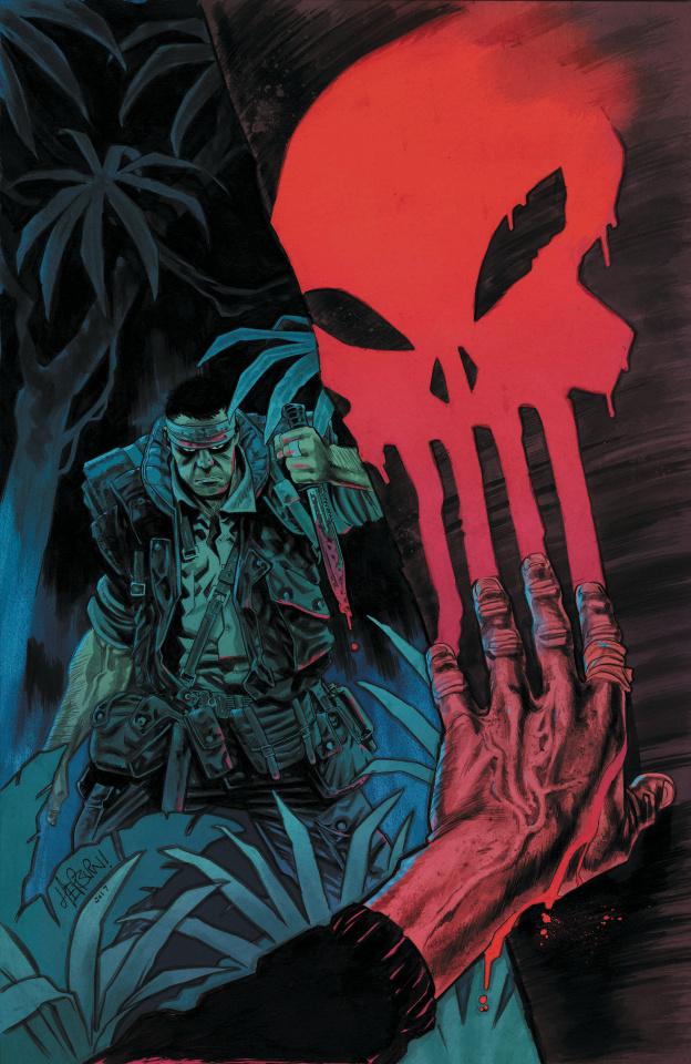 Punisher: The Platoon #2 (Hepburn Cover)