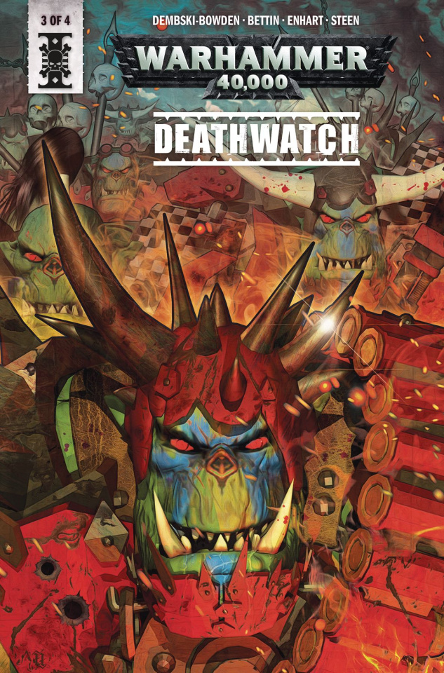 Warhammer 40,000: Deathwatch #3 (Listrani Cover)
