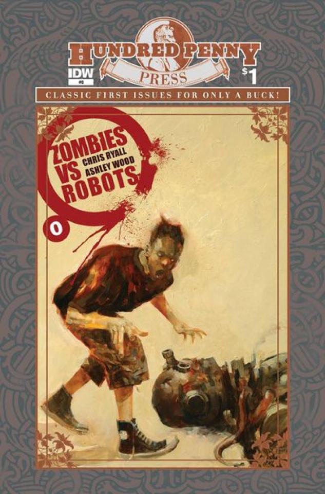 Zombies vs. Robots #1 (100 Penny Press Ed.)