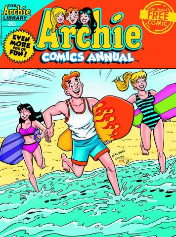 Archie Comics Annual Digest #263