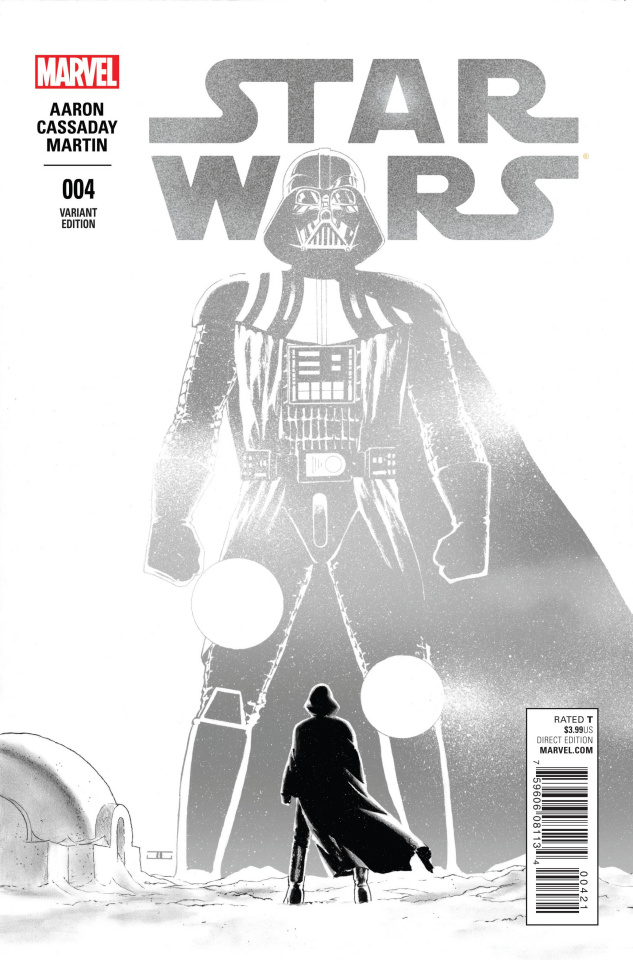 Star Wars #4 (Cassaday Sketch Cover)