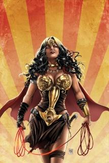 E.V.I.L. Heroes #1 (Krome Cover)