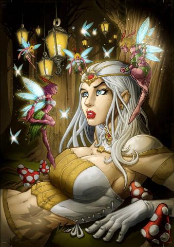 Grimm Fairy Tales: Wonderland #35 (Well Dreams, El Tabanas Cover)