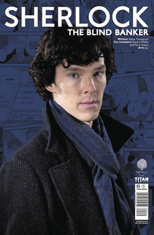 Sherlock: The Blind Banker #5 (Photo Cover)