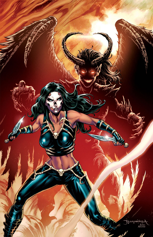 Grimm Fairy Tales: Dance of the Dead #3 (Abrera Cover)