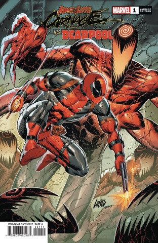 Absolute Carnage vs. Deadpool #1 (Liefeld Connecting Cover)