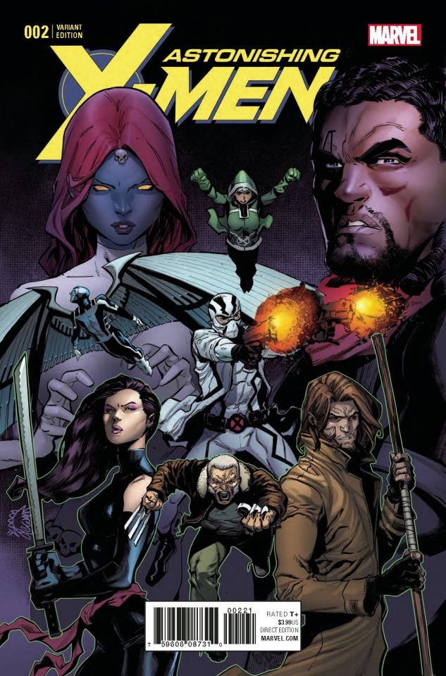 Astonishing X-Men #2 (Stegman Cover)