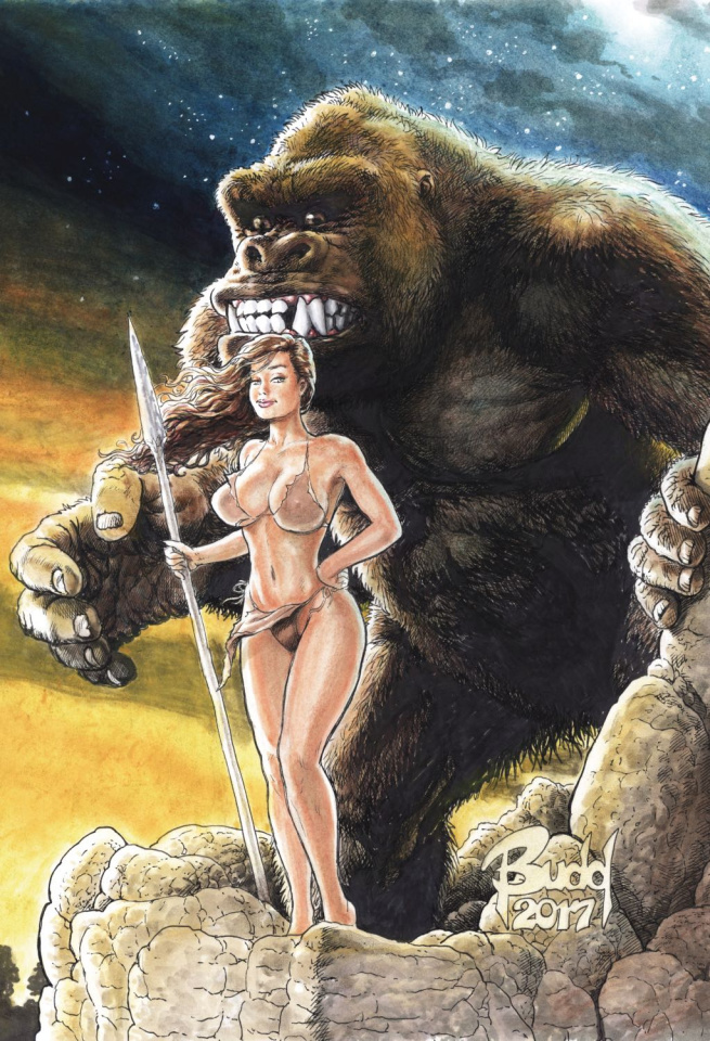 Cavewoman: Raptorella's Revenge #1 (Root Cover)