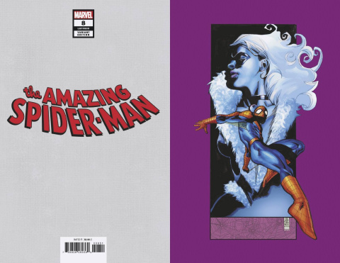The Amazing Spider-Man #8 (J.G. Jones Black Cat Virgin Cover)